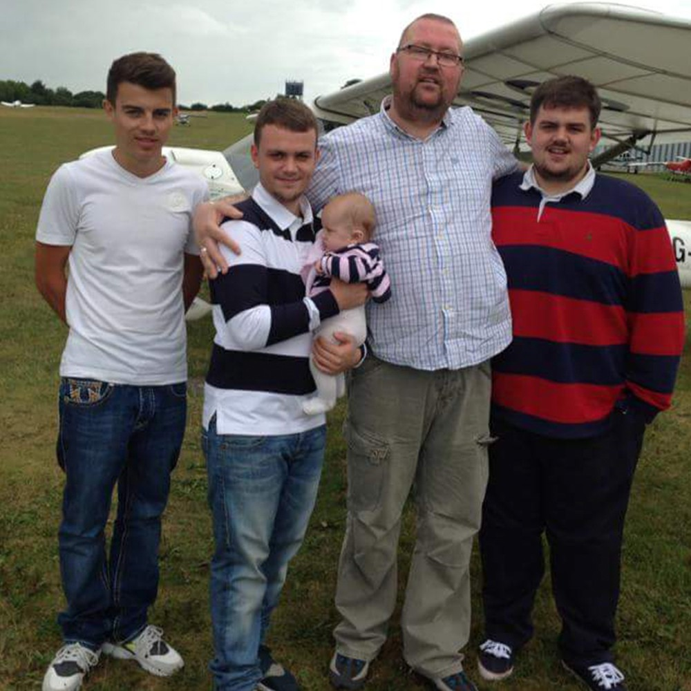 James and his sons