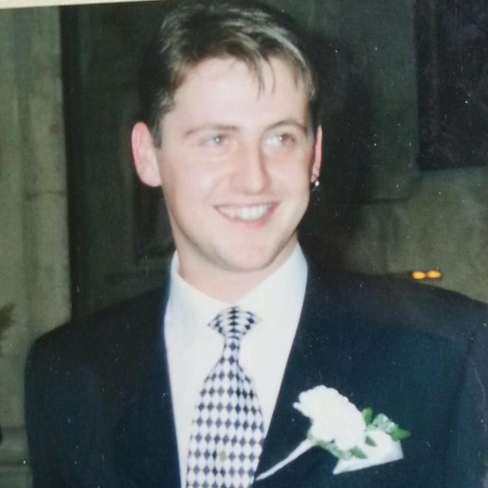 James at a wedding